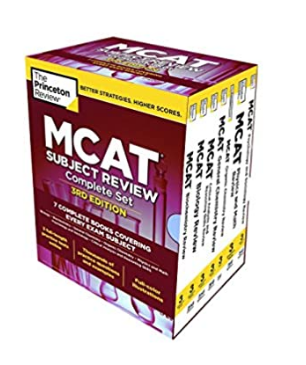 The Princeton Review MCAT Subject Review